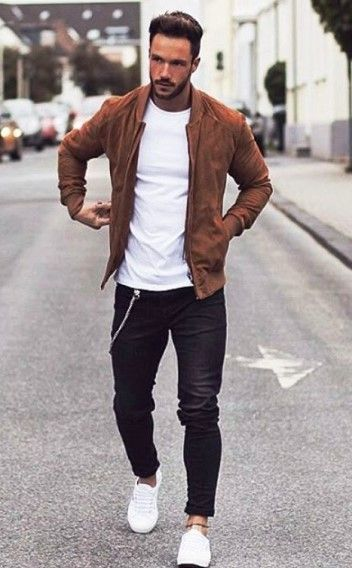 brilliant brown jacket outfit for men boys