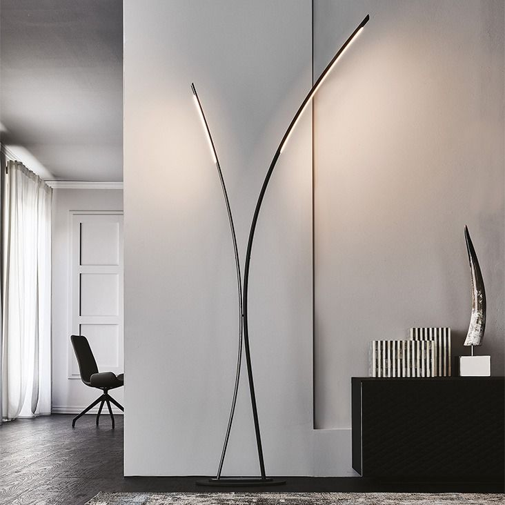 With Its Slim Silhouette, #cattelanitalia 's Twin Lamp