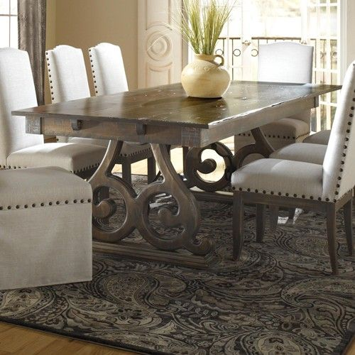 Champlain Custom Dining Customizable Rectangular Table With Double