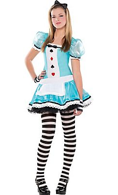 teen girls clever alice costume party city 2015 - Cool Halloween Costumes For Teenagers