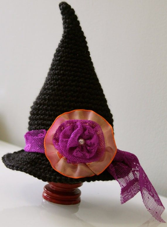 Halloween Crochet Witch Hat PDF PatternHalloween Crochet