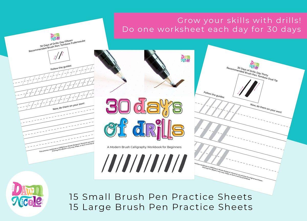 Let S Make S Mores Lettering Practice Sheets