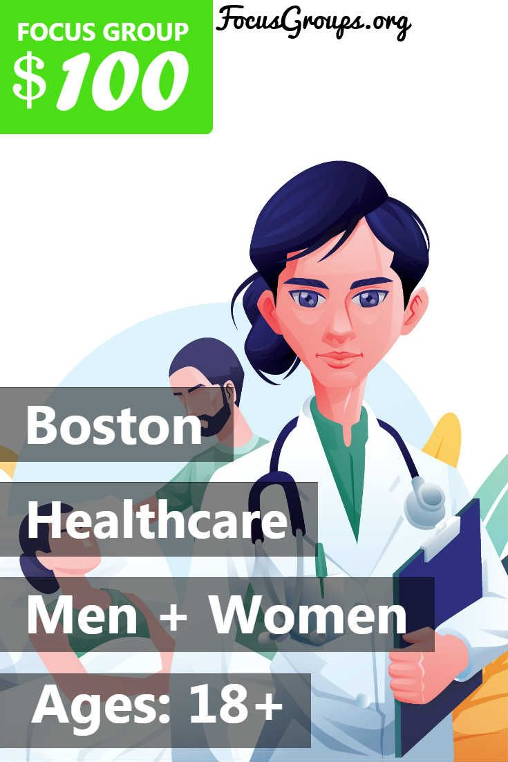 Focus Group on Healthcare in Boston | Focus group, Health ...