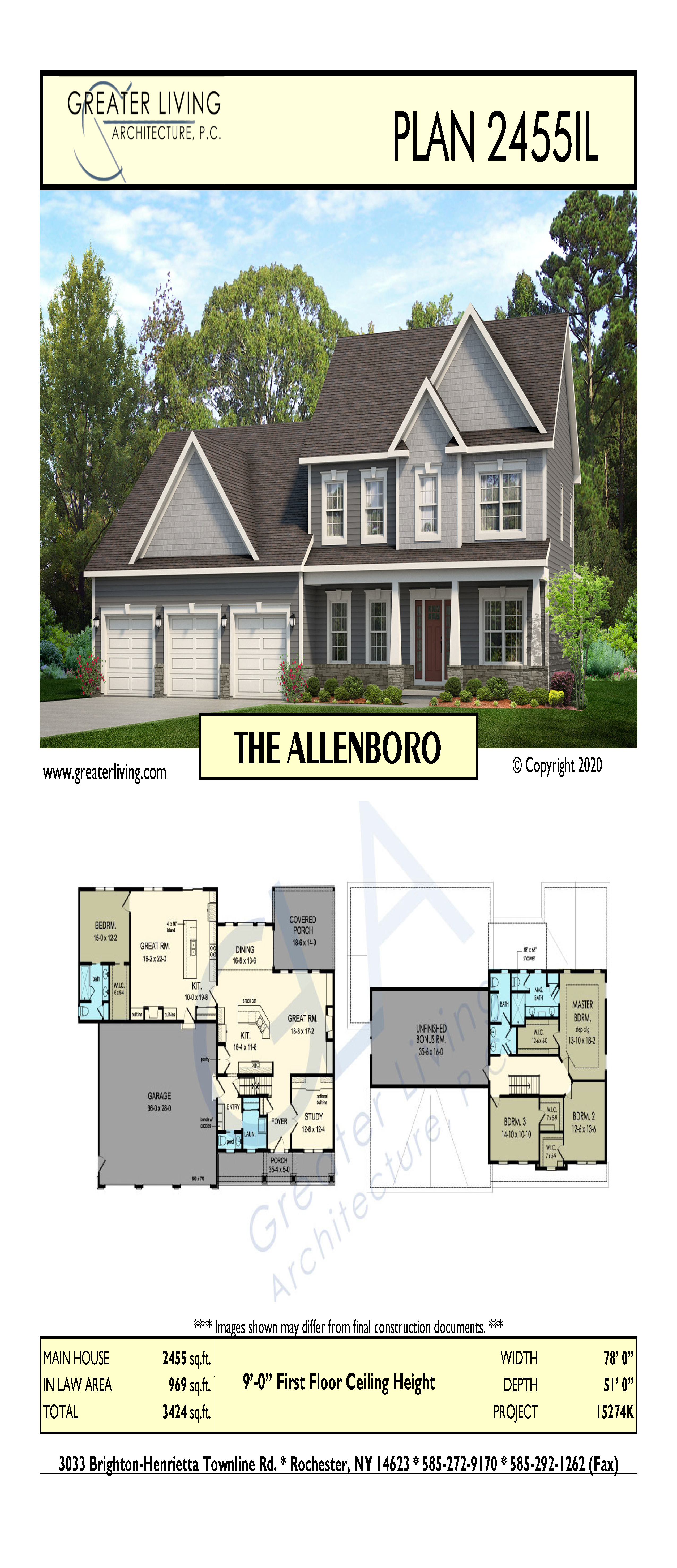 Plan 2455 Il The Allenboro Maine House House Styles Architecture