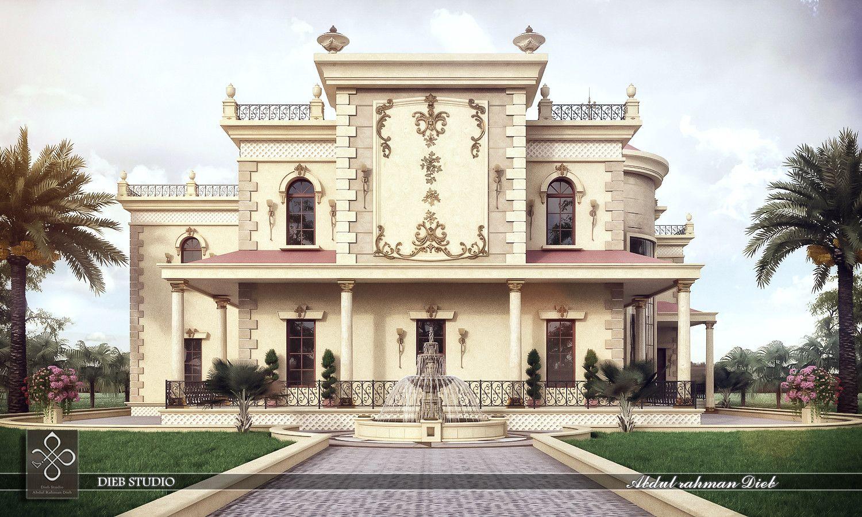 3d Max Villa Classic 3dsmax Villa Pinterest Villas