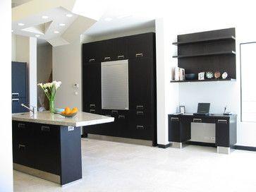 Modern Black Kitchen - modern - kitchen - san diego ...