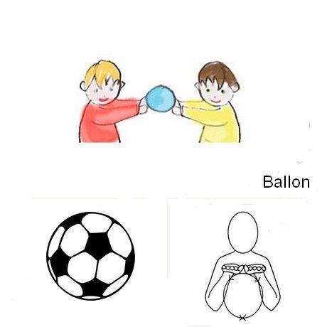 Le Ballon Pictogrammes Makatons Lfs