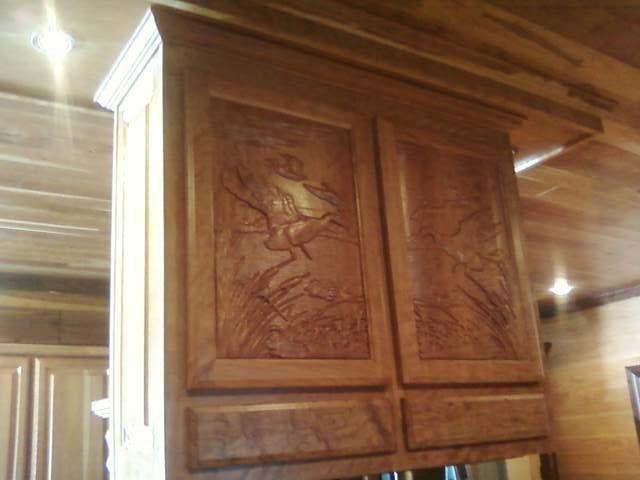 Carved Cabinet Doors Creative Custom Woodworking Pinterest