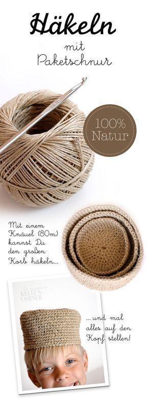 Photo of Häkelprojekte mit Schnur