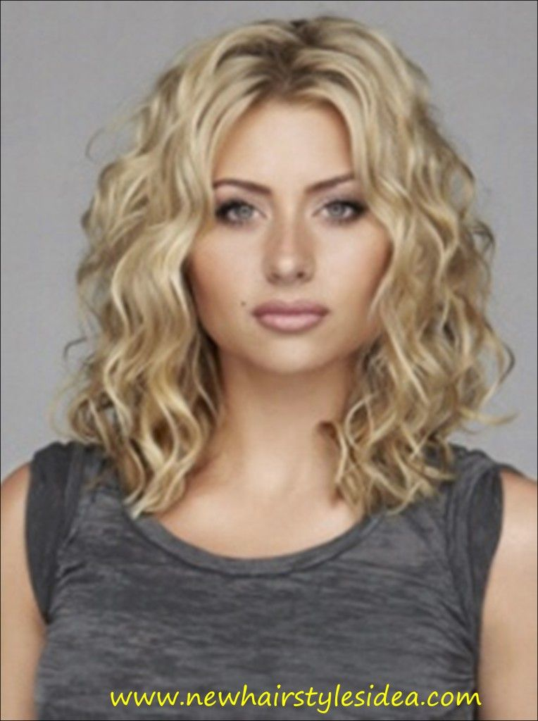 Blonde Curly Hairstyles Medium Curly Hair Styles Medium Hair Styles Hair Styles