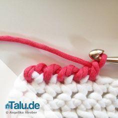 How to: Krebsmaschen häkeln lernen - DIY-Anleitung #crochetbabycardigan