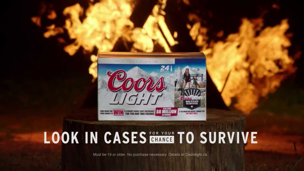 If you pay close attention to the latest coors light beer commercial if you pay close attention to the latest coors light beer commercial you will notice our aloadofball Image collections