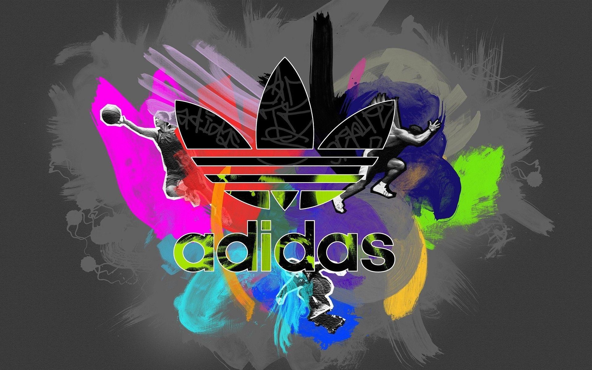 Colorful Adidas Logo by Josefita Sipes Adidas logo