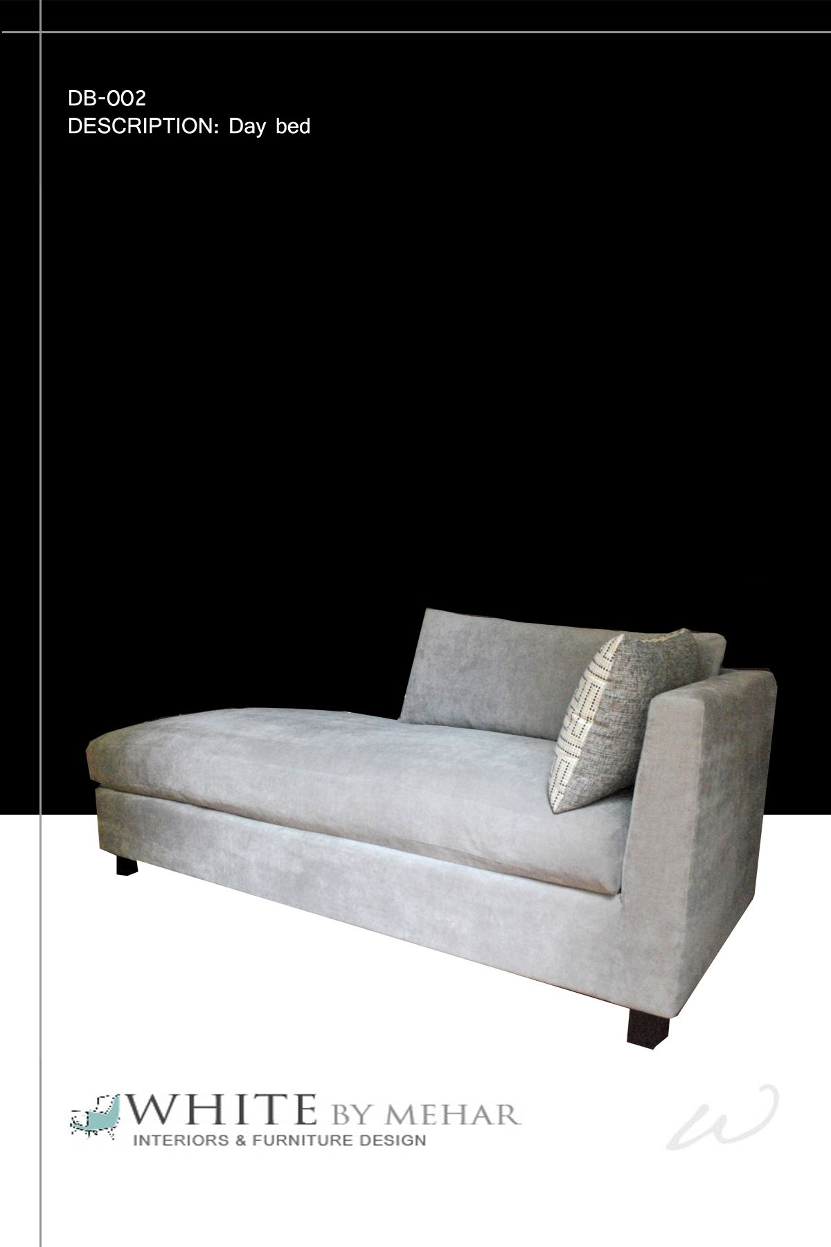 Daybed In Grey Suede · DaybedsSofas