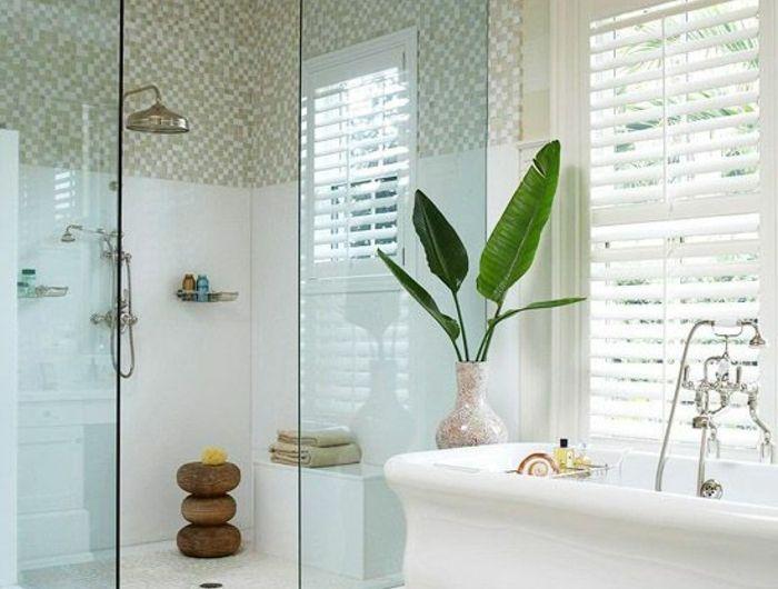 Comment Aménager Une Petite Salle De Bain - Plante verte pour salle de bain