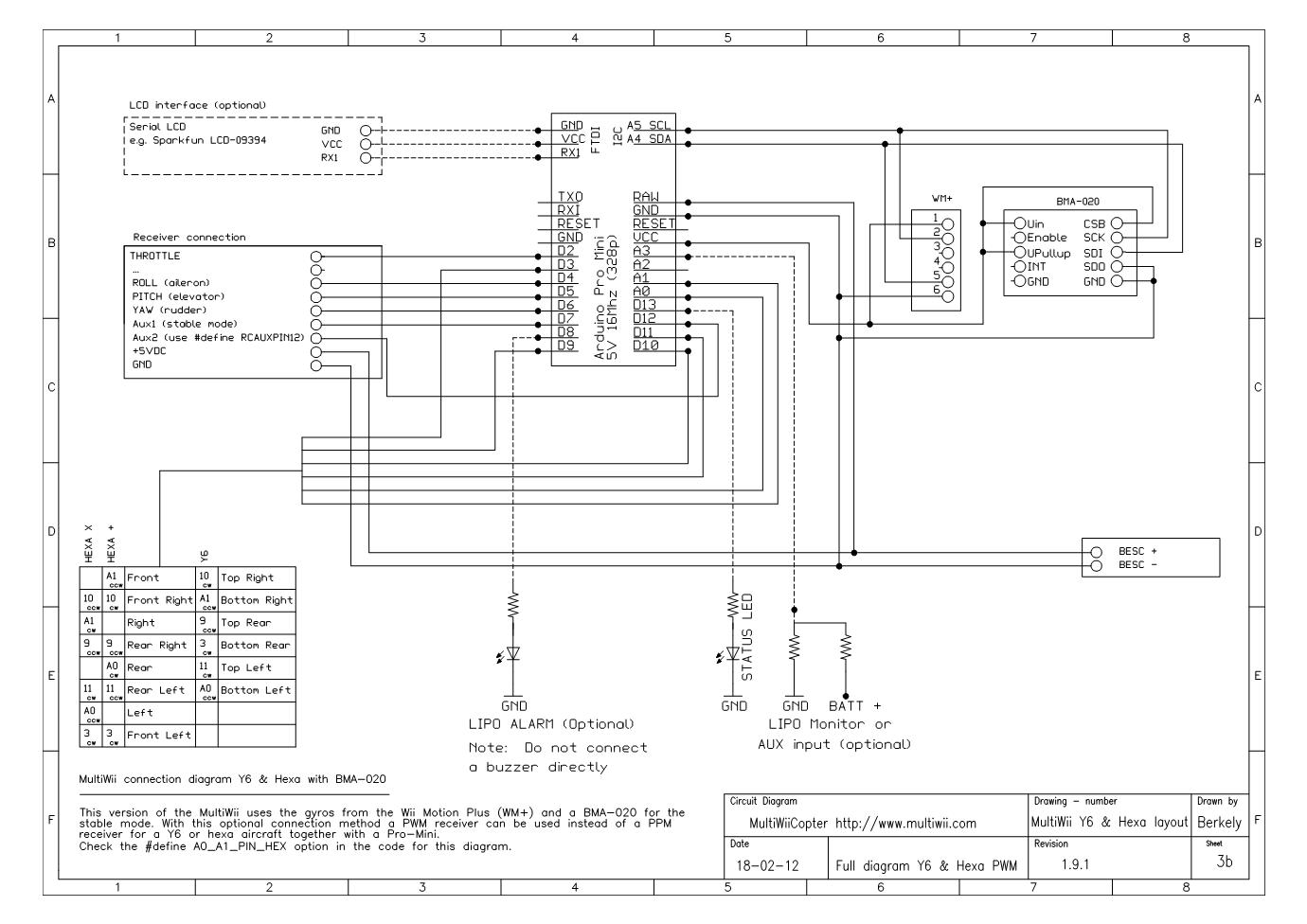 hexacopter atmega 328 quadcopter pinterest rh pinterest co uk Automotive Wiring Diagrams Automotive Wiring Diagrams