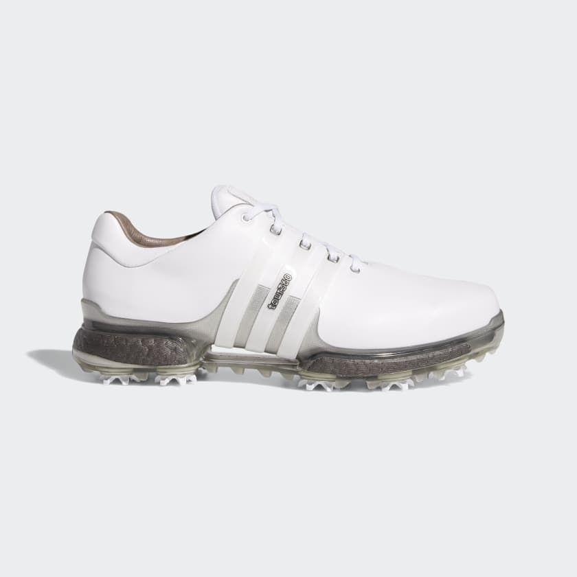 Tour 360 Boost 2 0 Shoes Cloud White Cloud White Boost Trace Grey F33729 Adidas Golf Adidas Tour 360 Adidas