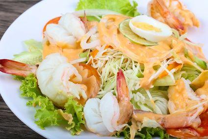 Salade De Laitue Aux Ecrevisses Recette Poisson Ascendant