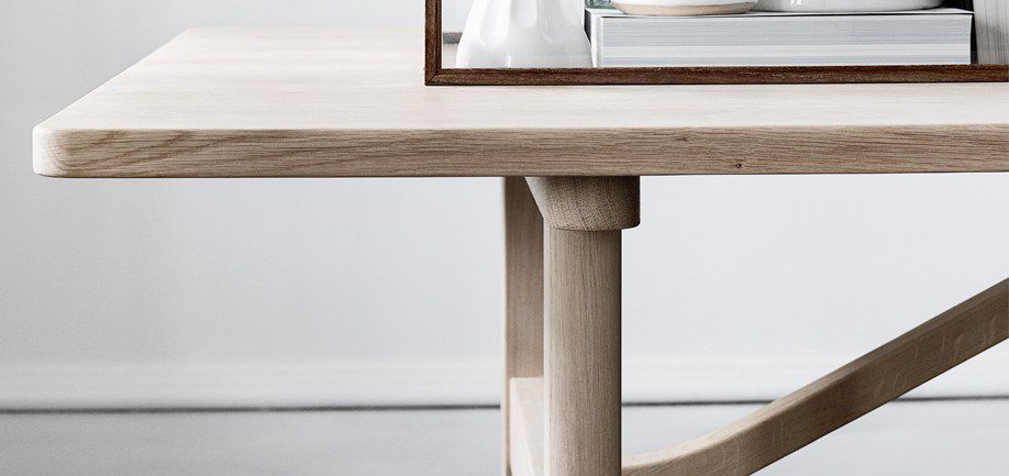 Discover all the information about the product Scandinavian design dining  table   oak   beech   rectangular 6284 by B rge Mogensen   Fredericia  Furniture. Dining table   Scandinavian design   oak   solid wood   6284 by