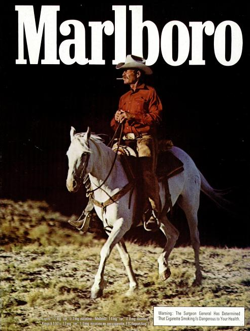 Super Seventies — Marlboro Man - 1978 advertisement