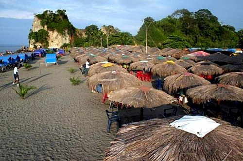 Visit the beautiful beaches of Tumaco, Colombia.