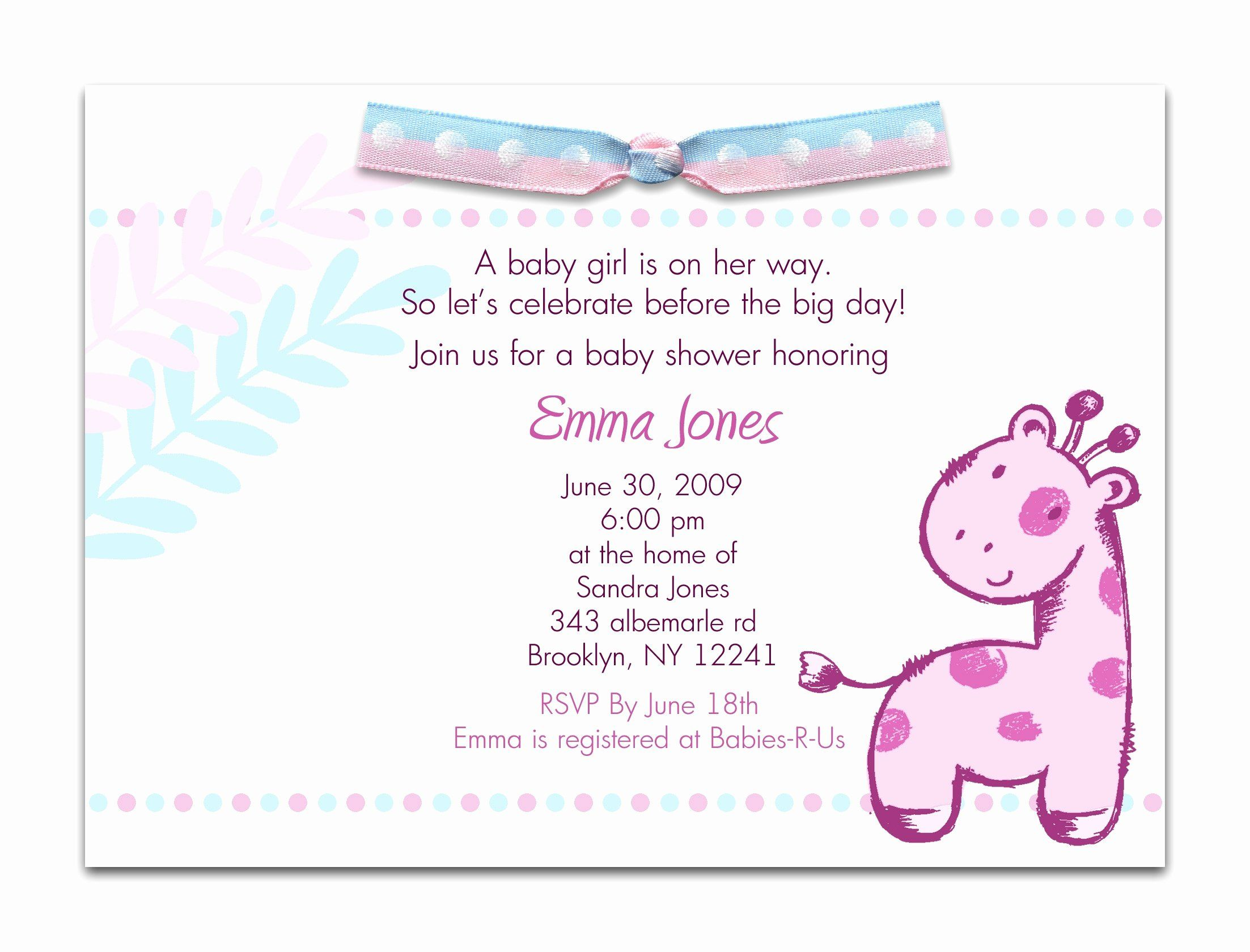 Office Baby Shower Invitation Template Awesome Fice Baby Shower Emai Baby Shower Invitation Cards Baby Shower Invitation Wording Sample Baby Shower Invitations