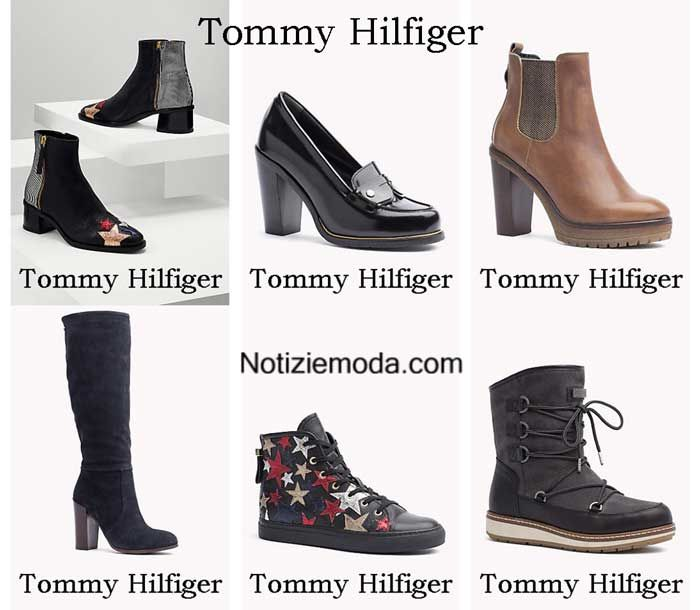 Scarpe Tommy Hilfiger autunno inverno 2016 2017 donna  e57b234e239