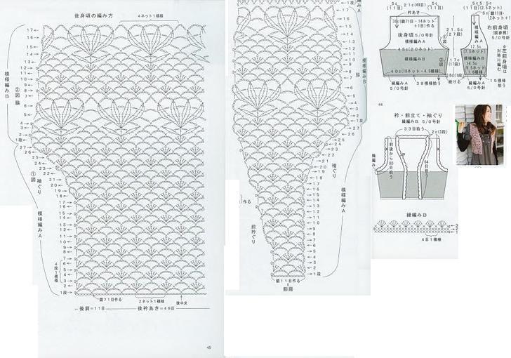 Patrones de chalecos en crochet gratis en español - Imagui ...