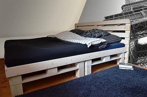 martinahrnciarikova / paletová posteľ