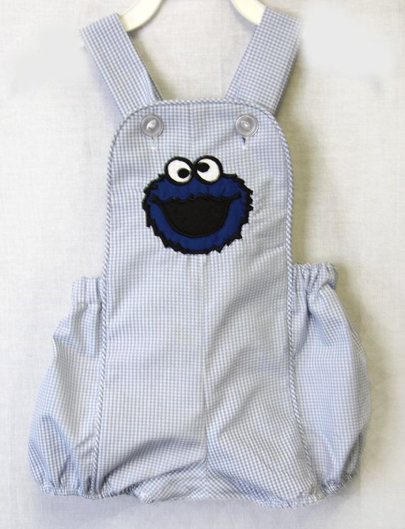 822383f92 Baby Romper Cookie Monster | j5 | Cute baby clothes, Baby boy swag, Clothes