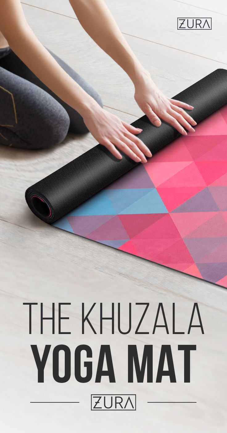 The Ecofriendly Combo Yoga Mat + Towel, Noslip Grip with