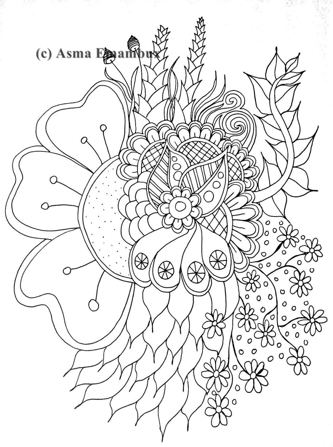 You Will Get Printable Coloring Page File Without The Watermark