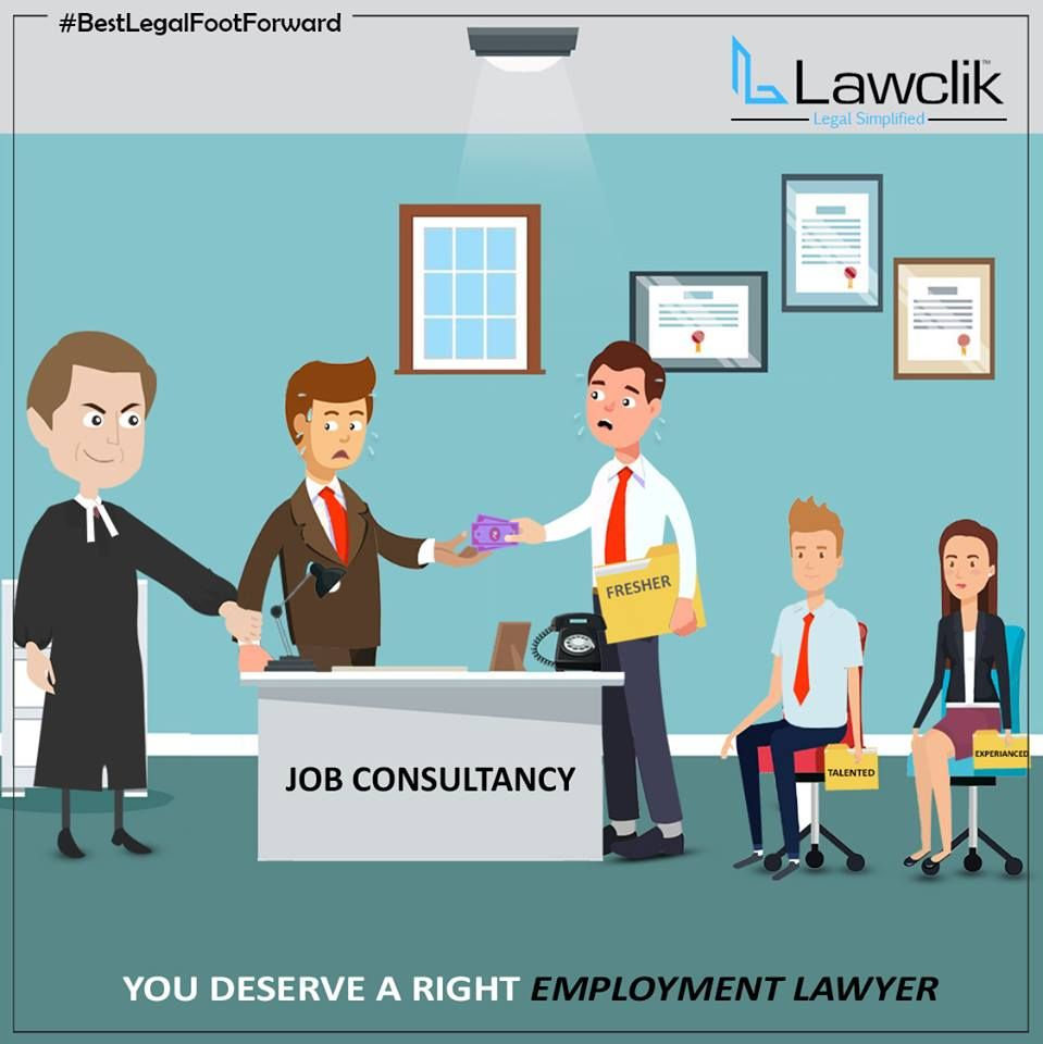 You deserve a Right Employment Lawyer, Lawclik covers all