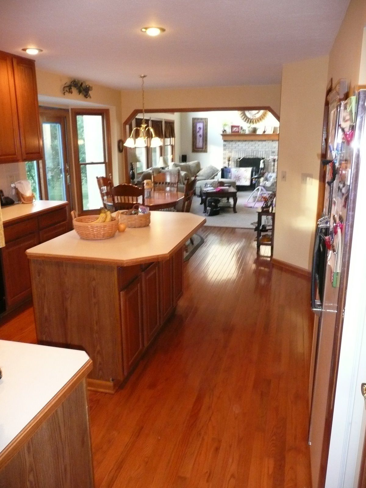 Linoleum flooring - inexpensive, versatile, and beautiful ...