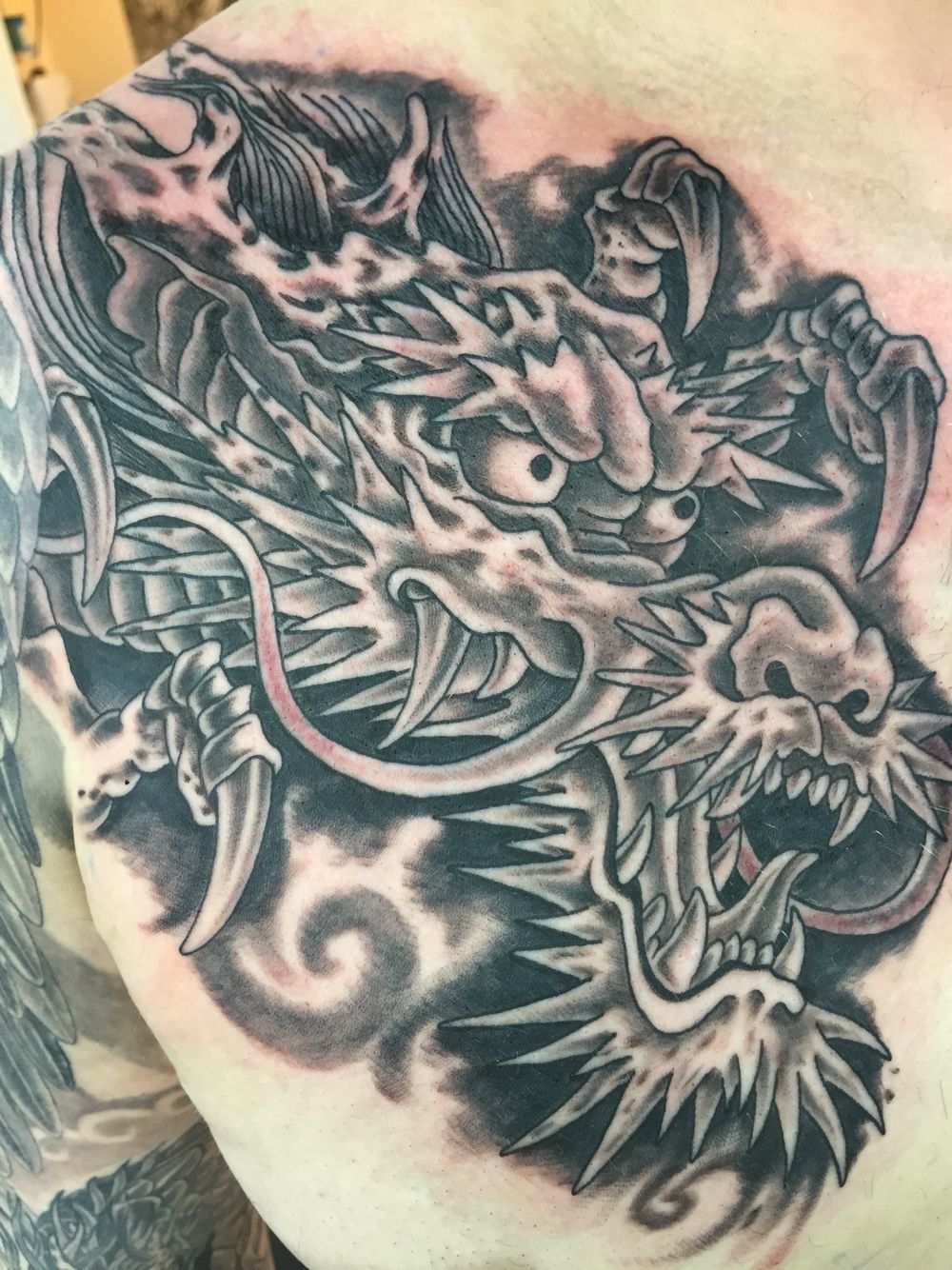Cabezas De Dragones Para Tatuar dragon head tattoo | dragones