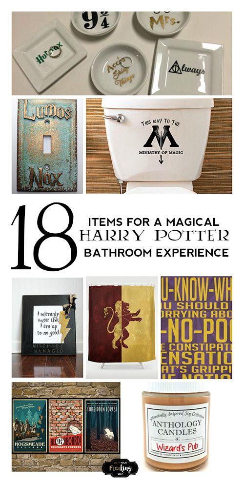 Harry Potter Bathroom Decor.Pin On Abha