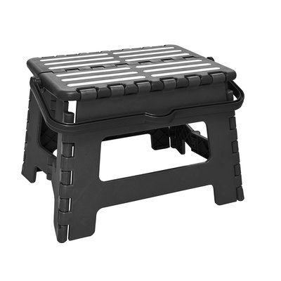 Fine Simplify 1 Step Plastic Folding Step Stool With 200 Lb Load Pabps2019 Chair Design Images Pabps2019Com