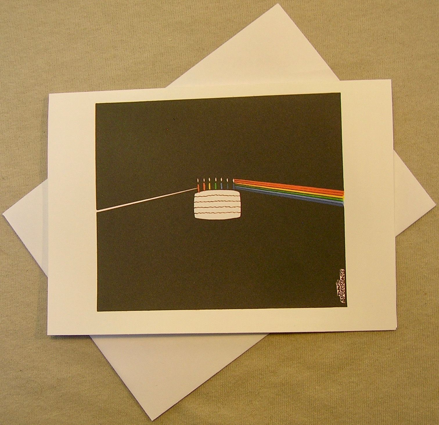 Pink floyds dark side of the cake birthday card available in the pink floyds dark side of the cake birthday card available in the bookmarktalkfo Image collections