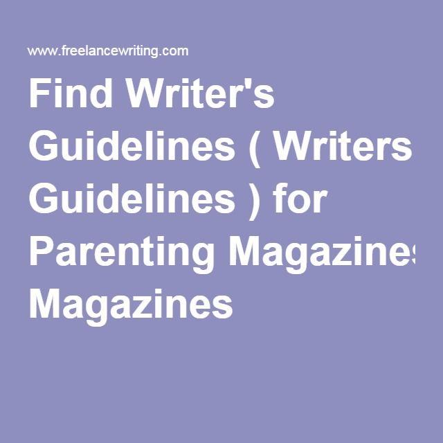 gardening magazines freelance