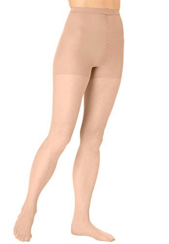 094fc893523b0 Comfort Choice Women's Plus Size 3-Pack Daysheer Nylon Pantyhose Nude,1X  Made by #Comfort Choice Color #Nude. sheer coverage ideal for everyday  wear. ...