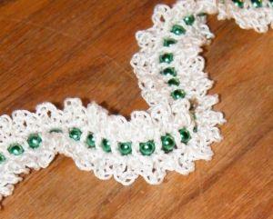 Bead Garland Free Crochet Pattern Crochet Christmas Garland Christmas Crochet Patterns Christmas Crochet