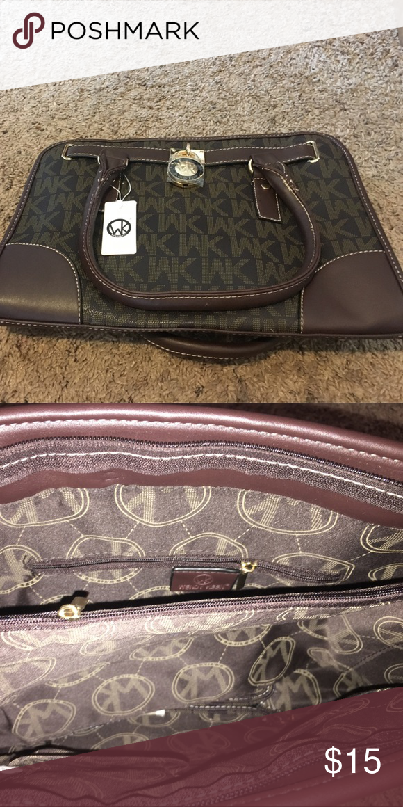 253e6e28418 Wendy keen purse Michael Kors knockoff by Wendy keen. Was a gift, but I  have not found a use for it. Brand new. Bags