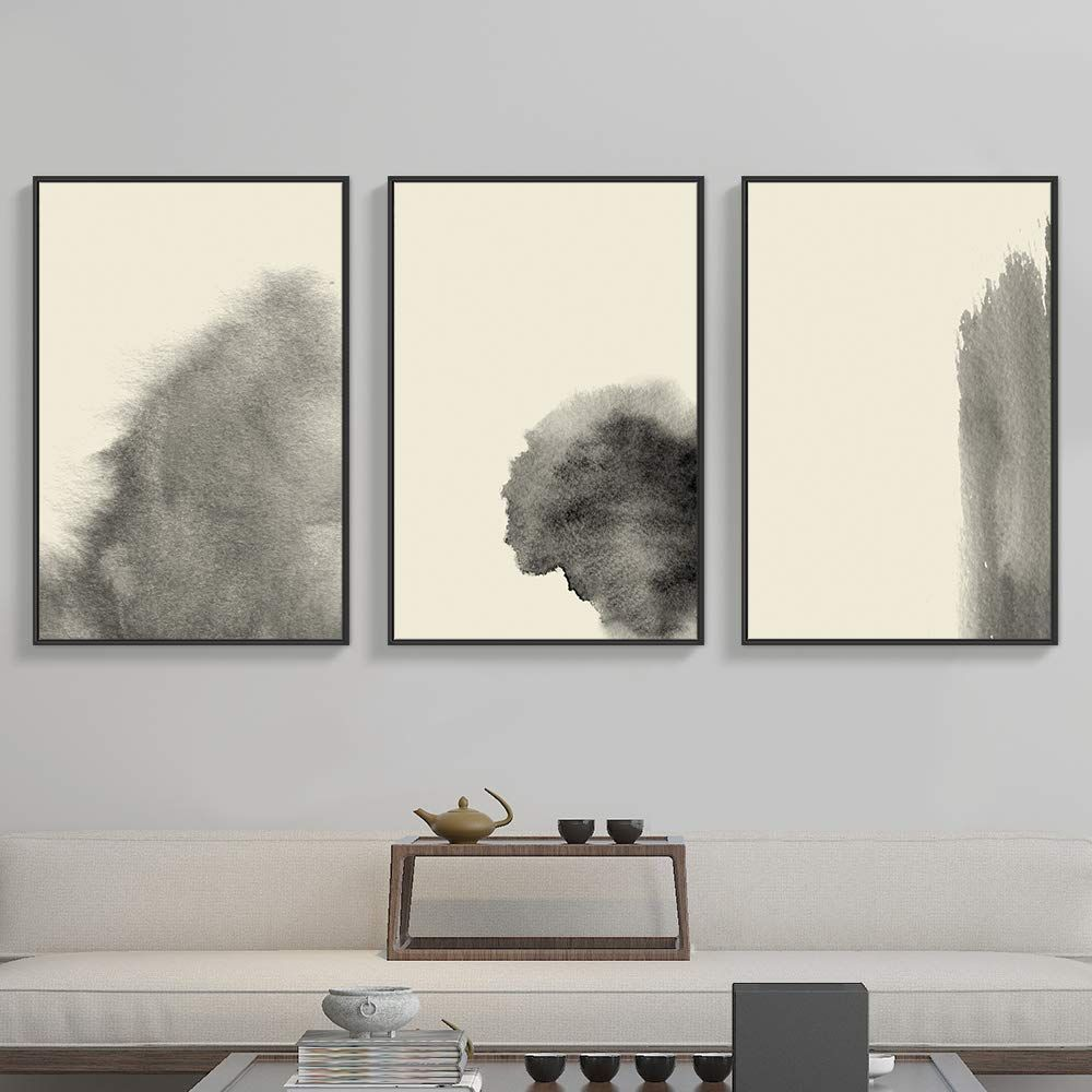 Amazon Com Nwt Framed Canvas Wall Art For Living Room Bedroom Abstract Zen Canvas Prints For Home D Modern Wall Art Canvas Framed Canvas Wall Art Wall Canvas