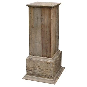Decorative Crafts Square Wood Pedestal 716 Wood Pedestal Wood Plant Stand How To Antique Wood