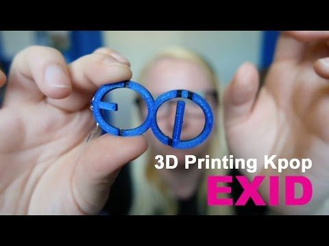 3D Printing Kpop - EXID [이엑스아이디] Earrings - YouTube