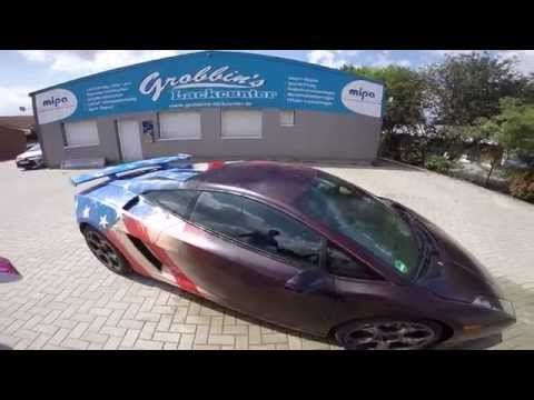 Watch A Lamborghini Change Color Thanks To Thermochromic