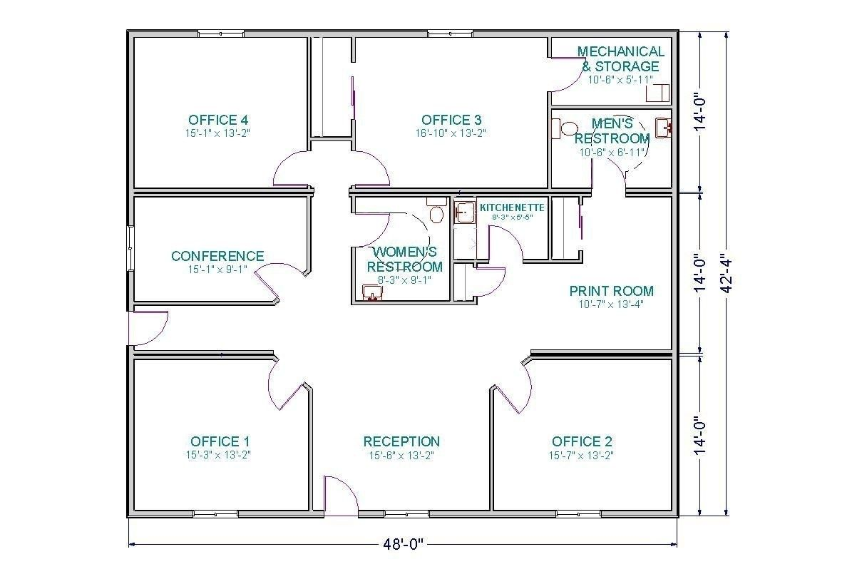 Choosing Medical Office Floor Plans Elegant Clinic