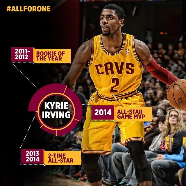 Cavs and @k1Irving officially sign contract extension. Visit cavs.com for details! #AllForOne