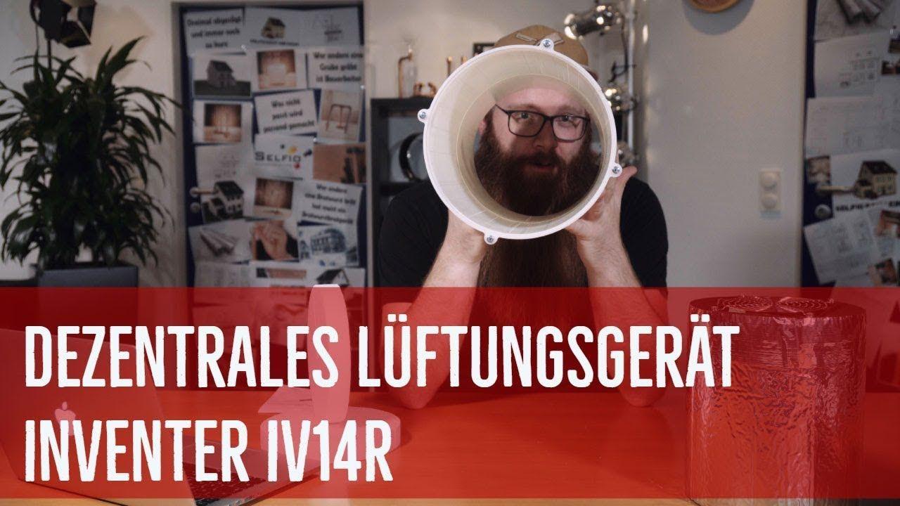 Dezentrales Luftungsgerat Iv14r Von Inventer Exklusiv Nur Noch Bei Selfio Luftungsgerat Luftung Aussenwand