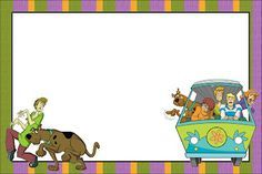 Scooby Doo - Complete Kit with frames for invitations, labels for snacks, souvenirs and pictures! | Making Our Party